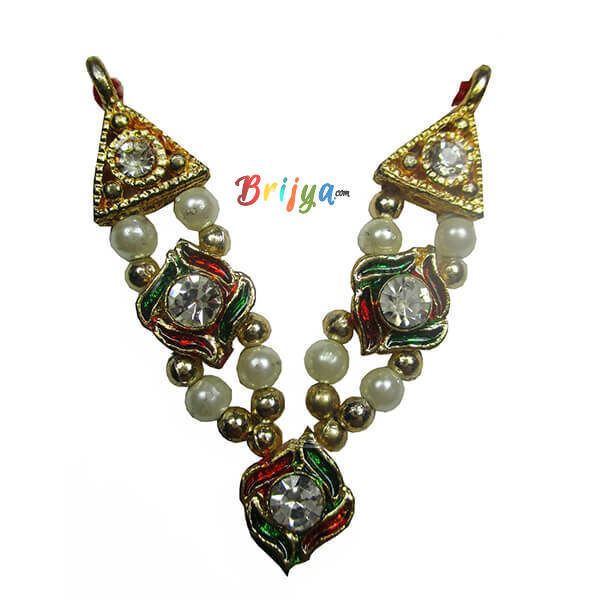 Multi Colour Pearl Stone Gopal Mala