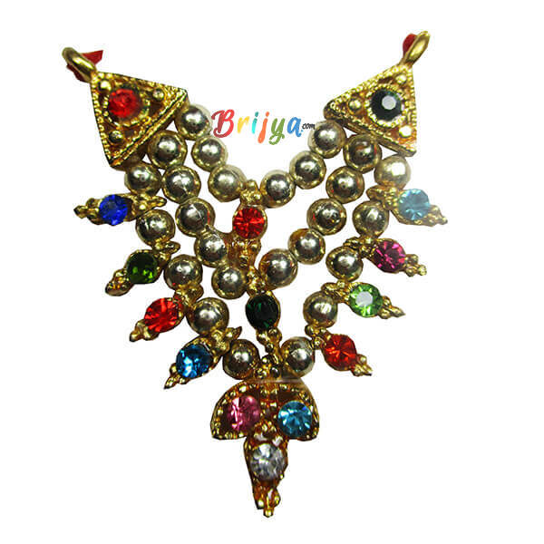Golden Beads Multi Stone Gopal Mala