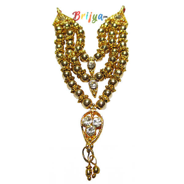 Elegant-Golden-Perl-Beads-Ladoo-Gopal-Mala