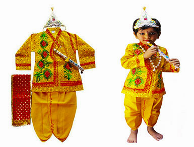 Krishna Kids Costume