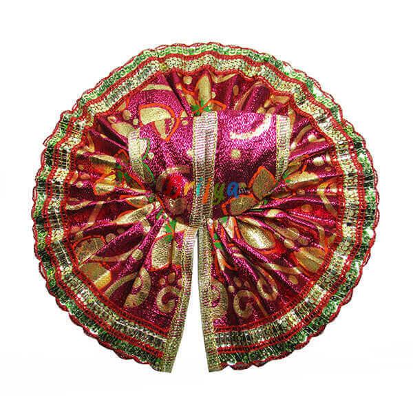 Pink-Printed-Shining-Simar-Gota-Laddo-Gopal-Dress-Poshak
